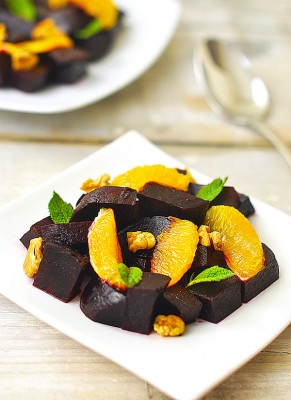beetroot orange salad