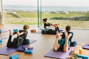 Cliffs of Moher retreat yoga studio