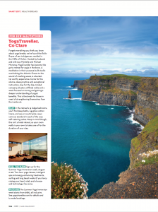 Cara Magazine Cliffs of Moher Retreat